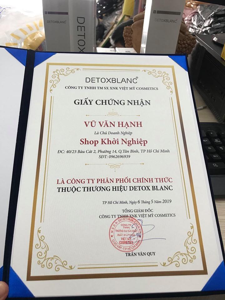 NPP DETOX BLANC CHÍNH HÃNG